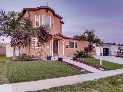 Chula Vista Single Family Home For Sale: 675 Claire Avenue