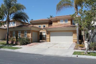 Chula Vista Single Family Home For Sale: 947 Merced River Rd