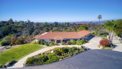 Vista Single Family Home For Sale: 1990 Quail View Dr