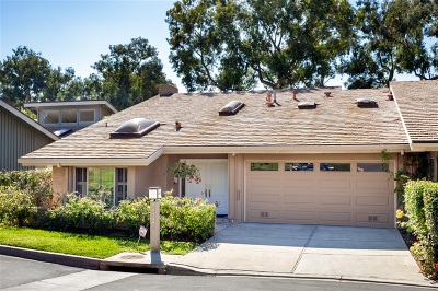 La Jolla Townhouse For Sale: 5428 Caminito Herminia