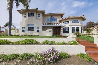 Carlsbad Single Family Home For Sale: 4445 Sunnyhill Dr.