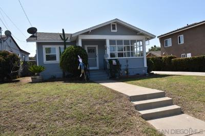 Chula Vista Single Family Home For Sale: 416 Park Way
