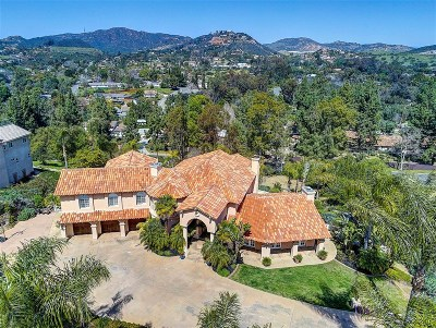 Vista Single Family Home For Sale: 3420 Sagewood Hills Rd.