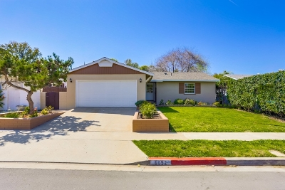 San Diego Single Family Home For Sale: 6652 Archwood Ave