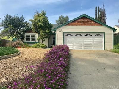 Oceanside CA Single Family Home Sold: $410,000
