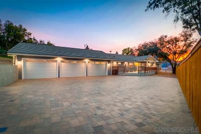 el cajon Single Family Home For Sale: 1410 S Magnolia Ave