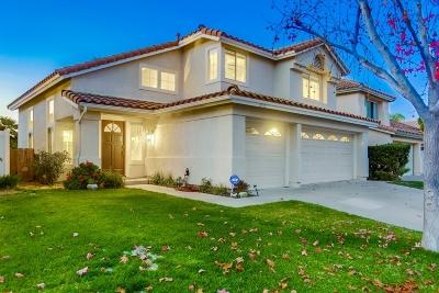 Oceanside Single Family Home For Sale: 652 Mosaic Cir