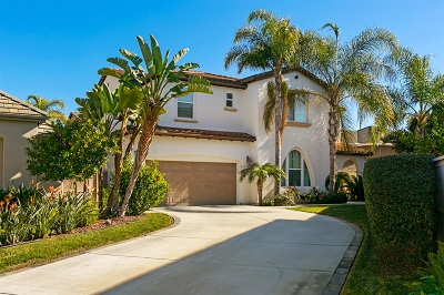 Carlsbad Single Family Home For Sale: 7088 Cordgrass Ct