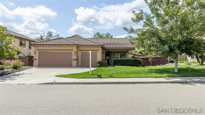Escondido Single Family Home For Sale: 3229 Meadow Side