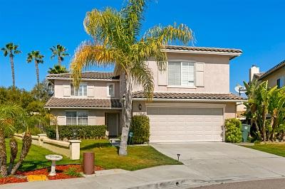 Chula Vista Single Family Home For Sale: 901 Taber Ct