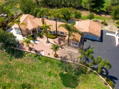 Valley Center Single Family Home For Sale: 30254 Anthony Rd