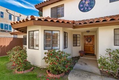 La Mesa Single Family Home For Sale: 5521 Lesa Road