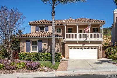San Marcos Single Family Home Sold: 1081 Via Vera Cruz