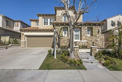 Chula Vista Single Family Home For Sale: 1323 Silver Hawk Way