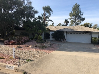 San Marcos Single Family Home Pending: 1362 San Pablo Drive