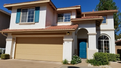 Santee Single Family Home For Sale: 156 River Rock Ct