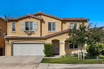 Fallbrook Single Family Home For Sale: 4103 Lake Circle Dr