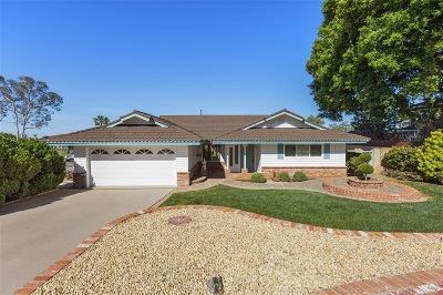 Carlsbad Single Family Home For Sale: 1310 Chuparosa Way