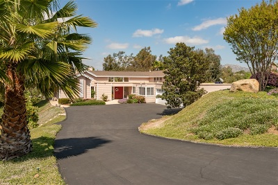 Poway Single Family Home For Sale: 16520 Calle Ana