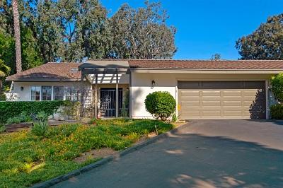 Rancho Santa Fe, Rancho Santafe, Rancho Sant Fe, Rancho Sante Fe Attached For Sale: 16902 Via De Santa Fe 3