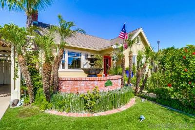 San Diego Single Family Home For Sale: 5012 Hawley Blvd