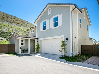 Escondido Single Family Home For Sale: 2690 Overlook Point Dr