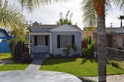 San Diego Multi Family 2-4 Sold: 4237-4239 41st Street