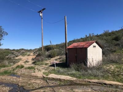 Julian Residential Lots & Land For Sale: 13826 Tule Springs Truck Trl