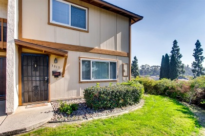 National City Attached For Sale: 3813 Willows Way