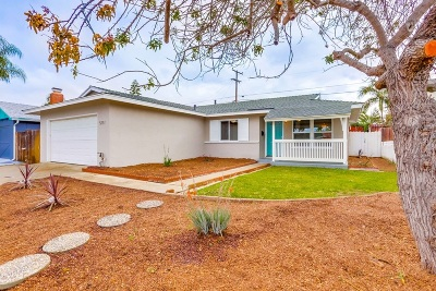 Clairemont Single Family Home For Sale: 5151 Rebel Rd