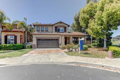 Chula Vista Single Family Home Contingent: 1140 Ferndale Street