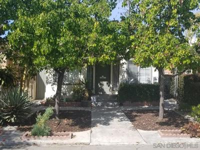 San Diego Multi Family 2-4 Sold: 4248 41st Street