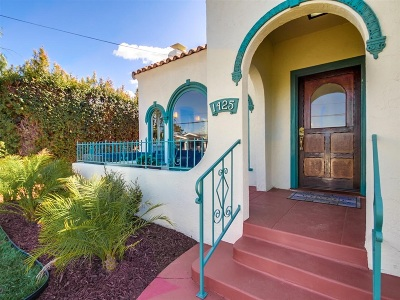 Mission Hills, Mission Hills/Hillcrest, Mission Valley Single Family Home For Sale: 1425 Sutter St