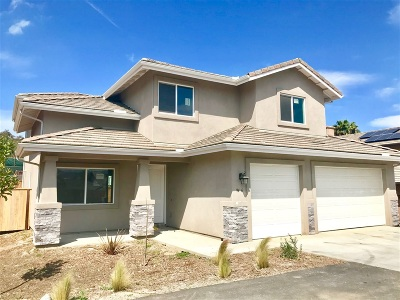 Santee Single Family Home For Sale: 9436 Slope Street