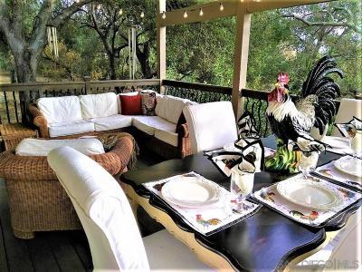 Fallbrook Single Family Home For Sale: 2490 Heyneman Hollow