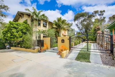 San Diego Multi Family 2-4 For Sale: 3629 Front Street