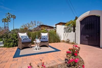 Encinitas Single Family Home For Sale: 195 La Mesa Avenue