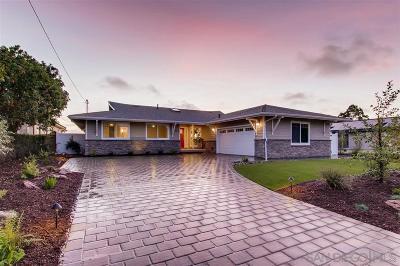 La Jolla Single Family Home Pending: 5902 Sagebrush Road