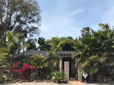 Carlsbad Single Family Home For Sale: 2459 Tuttle Street