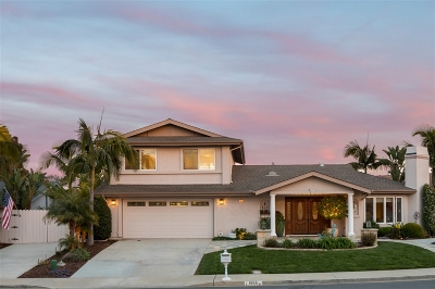 Carlsbad Single Family Home For Sale: 1653 James Dr.