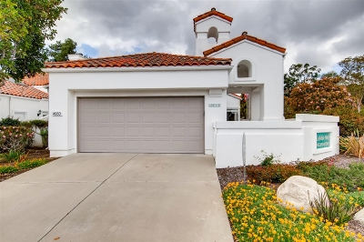 Oceanside Single Family Home For Sale: 4950 Lamia Way