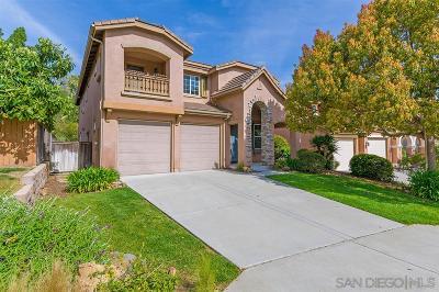 San Elijo Hills Single Family Home Pending: 1649 Reflection St