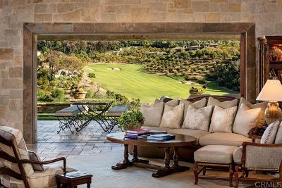 Rancho Santa Fe Single Family Home For Sale: 6421 Calle Ponte Bella