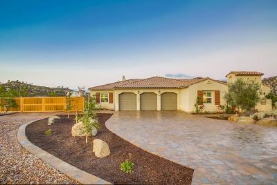 Single Family Home For Sale: 12884 Vineyard Crest Place