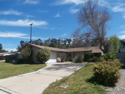 Poway Single Family Home For Sale: 13953 Frame Road