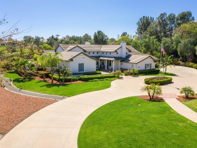 Fallbrook Single Family Home For Sale: 4085 Keri Way