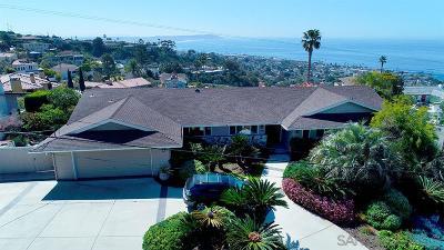 La Jolla Single Family Home For Sale: 1005 Havenhurst Dr