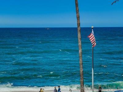 La Jolla Attached For Sale: 909 Coast Blvd #8