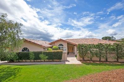 Fallbrook Single Family Home For Sale: 3197 Camino Portofino