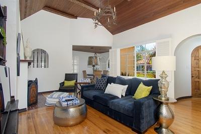 La Jolla Single Family Home For Sale: 552 Rushville